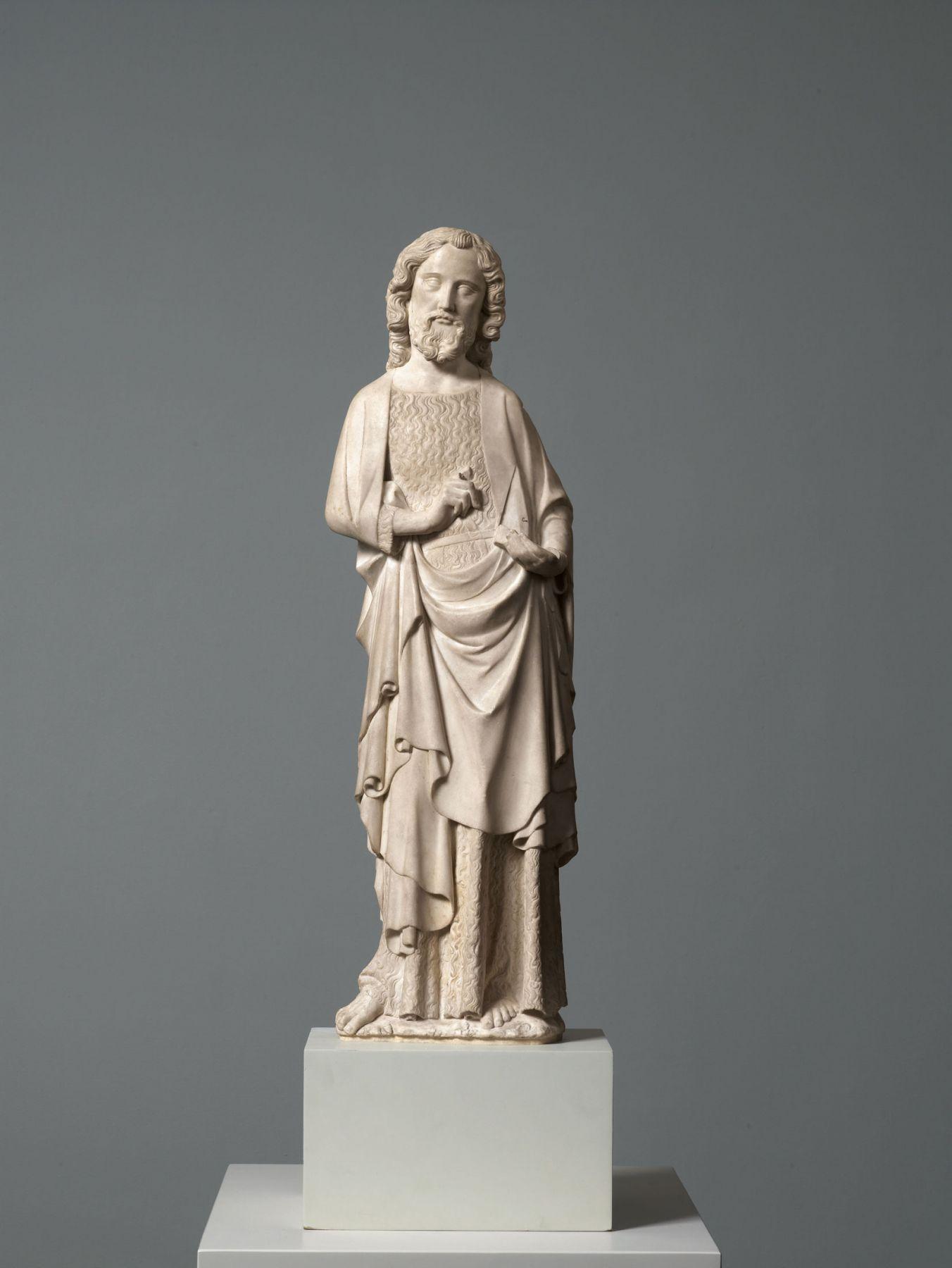 Robert de Lannoy(fl. from 1292, d. Paris? 1356, attributed), John the Baptist