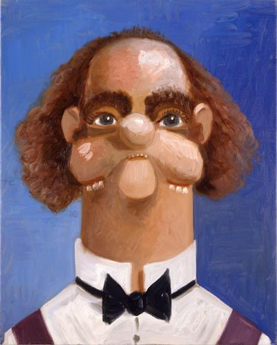 George Condo, Jean Louis' Brother, 2005