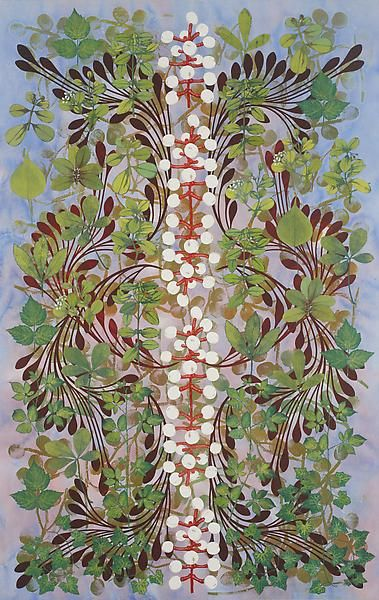 Philip Taaffe Imaginary Garden with Seed Clusters, 2013