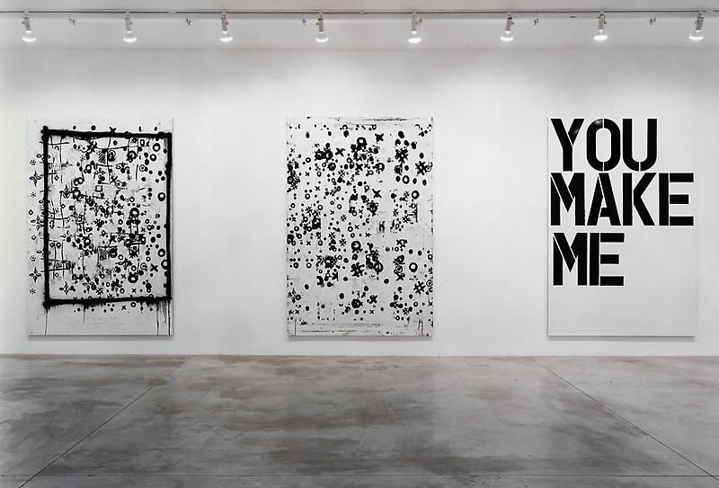 Christopher Wool Installation view