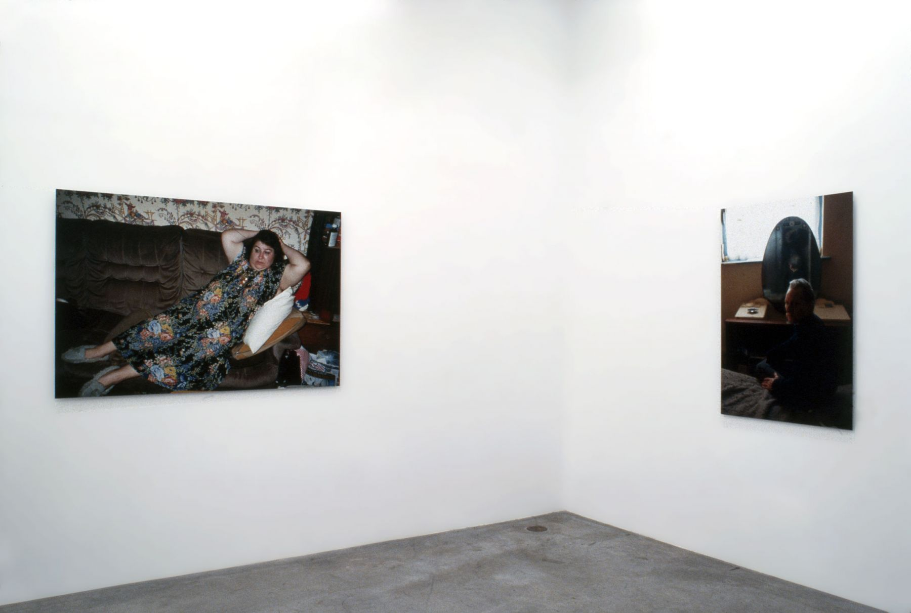 Richard Billingham, Installation view