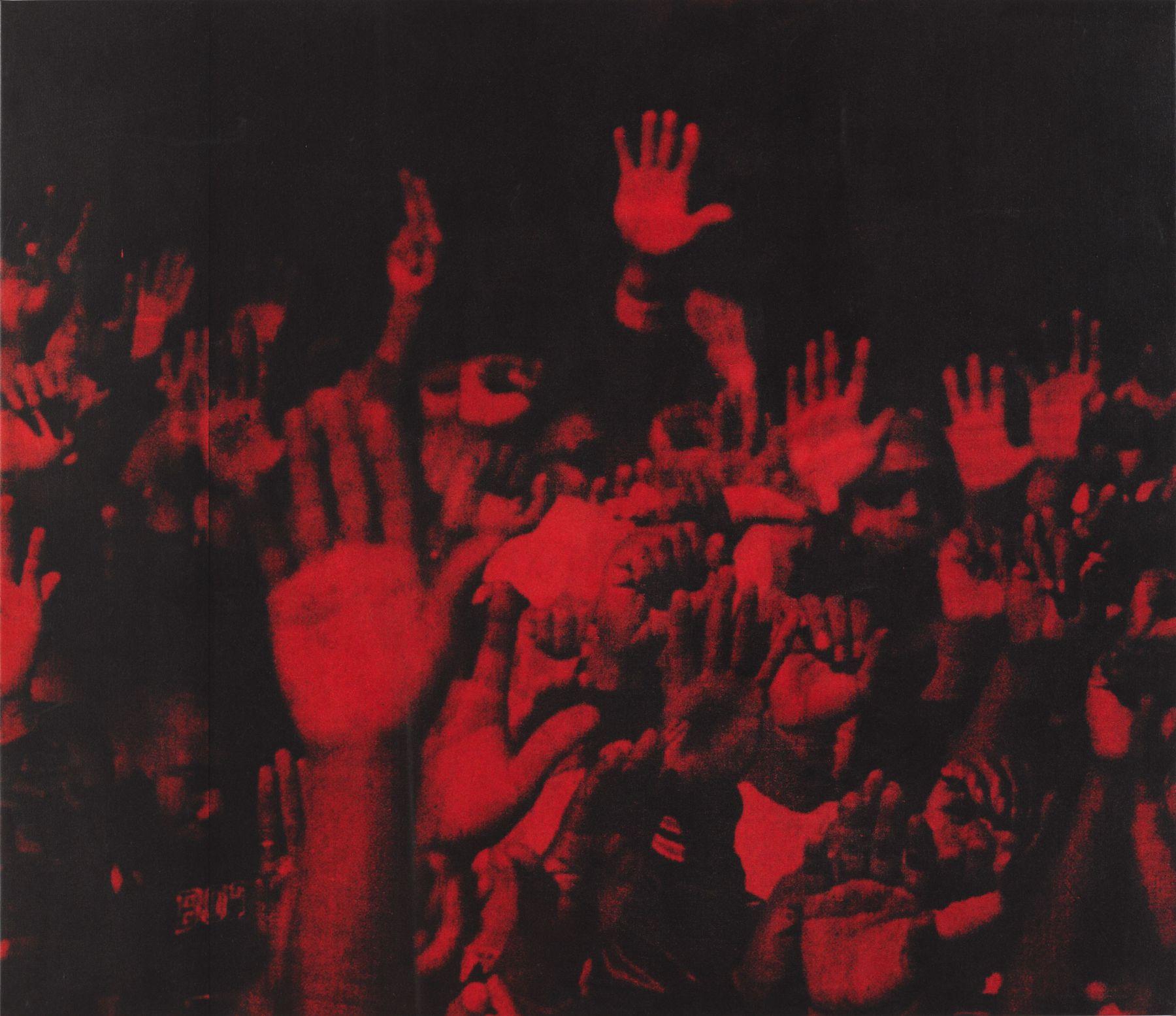 Glenn Ligon Red Hands II, 1996