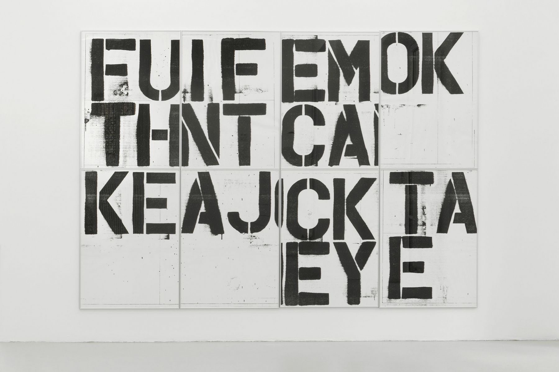 Christopher Wool Untitled (Billboard Graz), 1991/2019