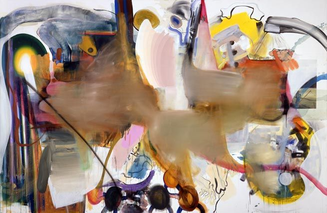 Albert Oehlen, Hundepemmikan, 2002/2006
