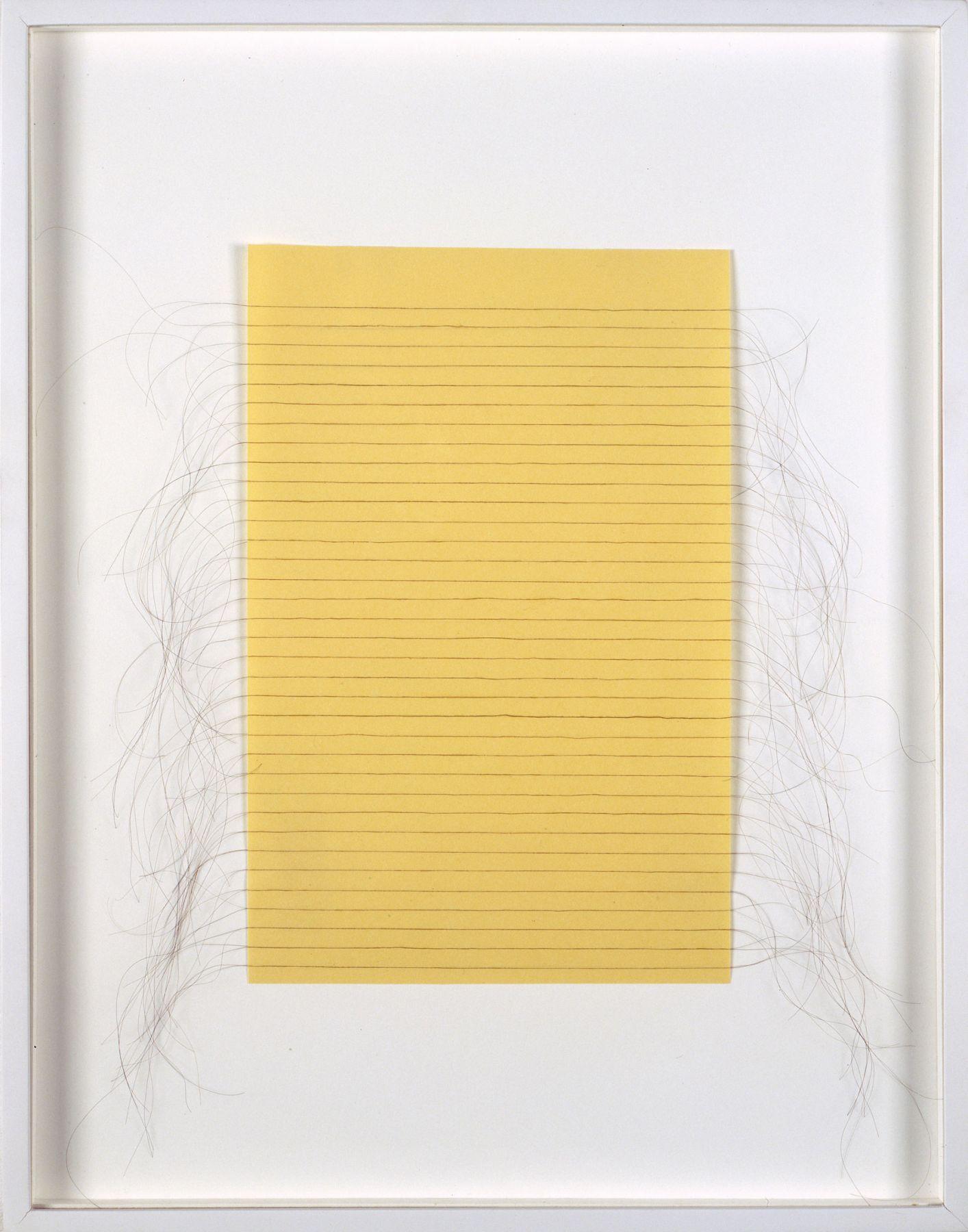 Janine Antoni, Loose Leaf, 1990-1995