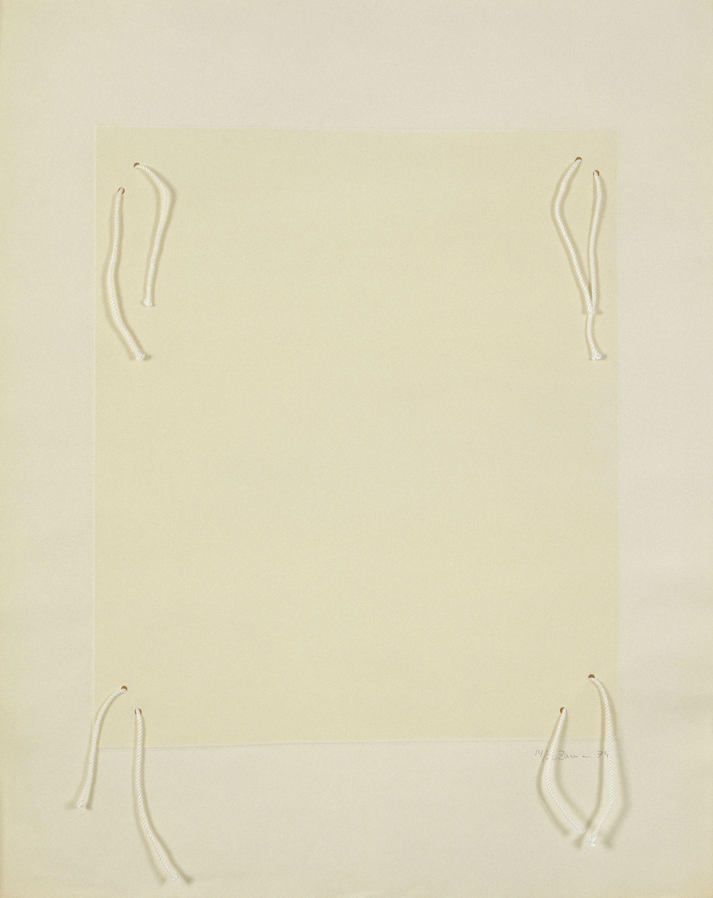 Zarina, Untitled, 1974