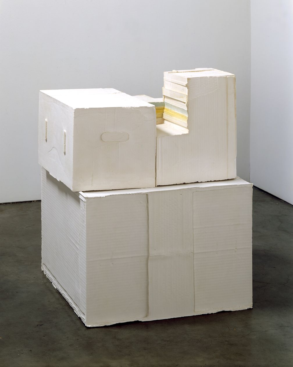 Rachel Whitread, Stack II, 2005