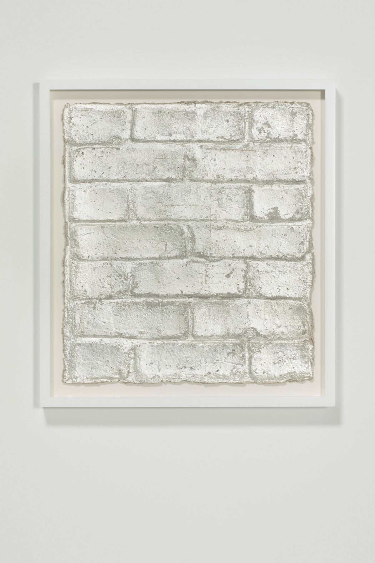 Rachel Whiteread, Untitled (Silver Leaf), 2015