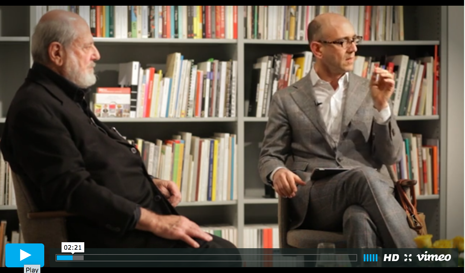 Michelangelo Pistoletto and Carlos Basualdo in conversation (full-length)