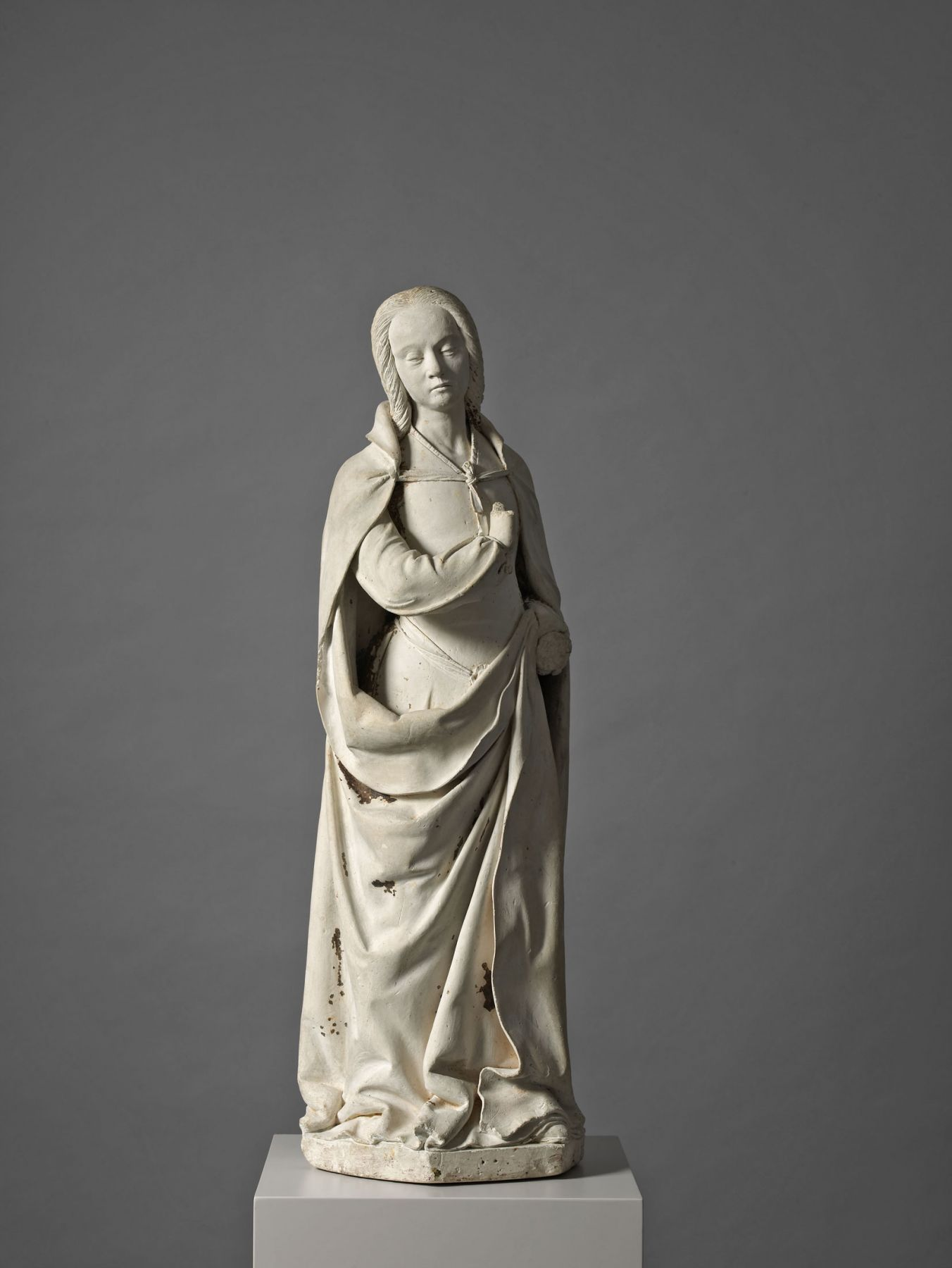 Guillaume Regnault (c. 1450-1530, attributed), The Virgin Annunciate