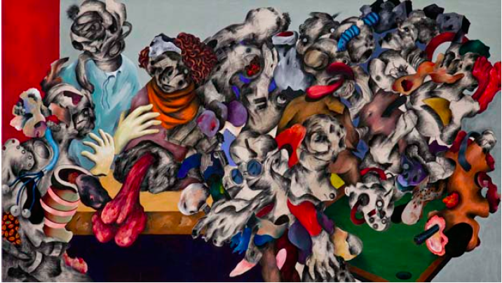 Ahmed AlSoudani, Untitled, 2011