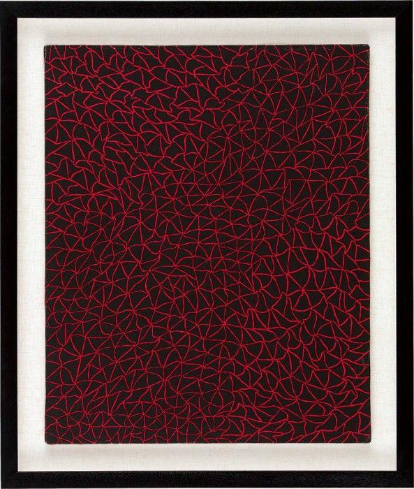 YAYOI KUSAMA, Infinity Nets, 1979