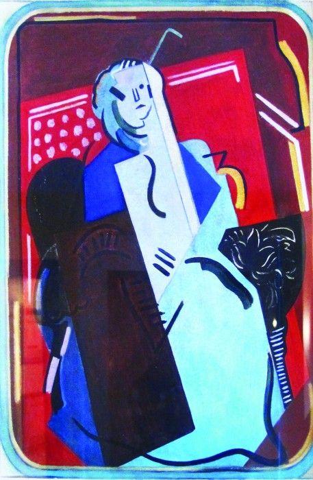ALBERT GLEIZES, Femme au Fauteuil, 1923
