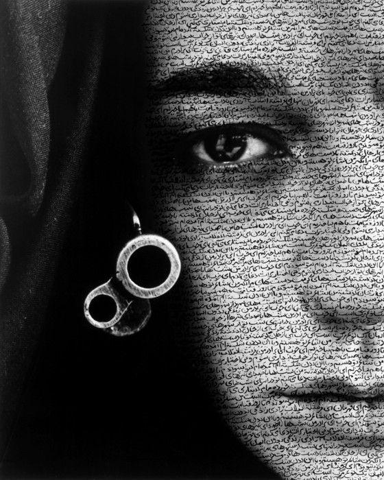 SHIRIN NESHAT, Speechless (Women of Allah series), 1996