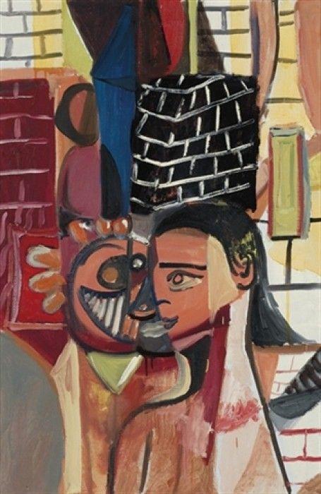 GEORGE CONDO, Untitled, 1995