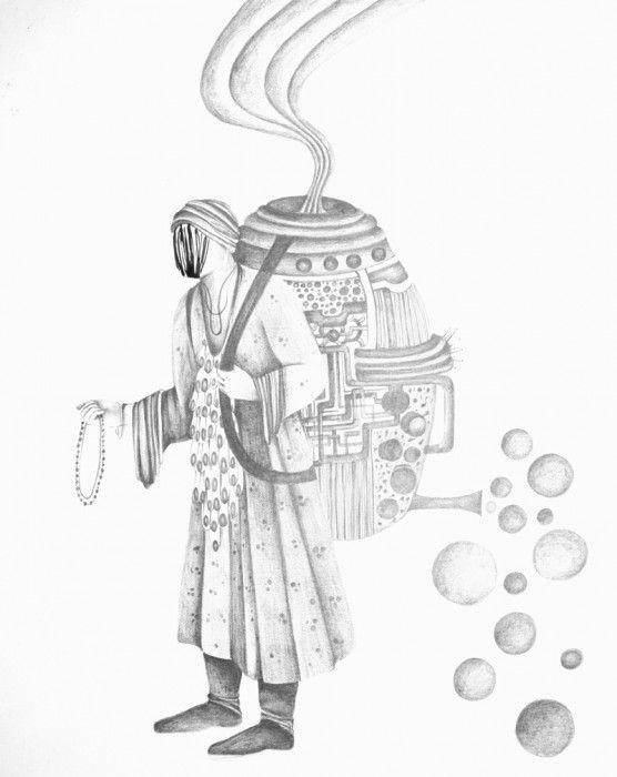 SHIVA AHMADI, Untitled 9, 2013