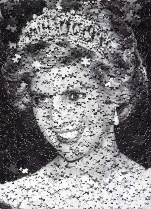 VIK MUNIZ, Princess Diana, 2008