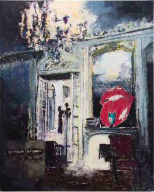 Enoc Perez Villa Nellcote, Rolling Stones in Residence. 1971, 2017