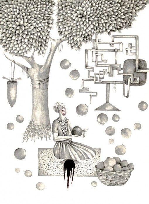 SHIVA AHMADI, Untitled 5, 2014