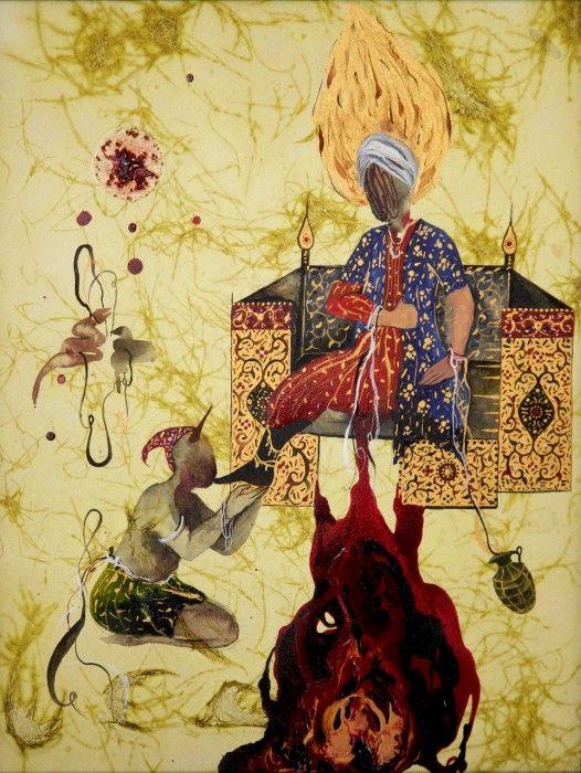 SHIVA AHMADI, Untitled 2 (from Throne), 2013