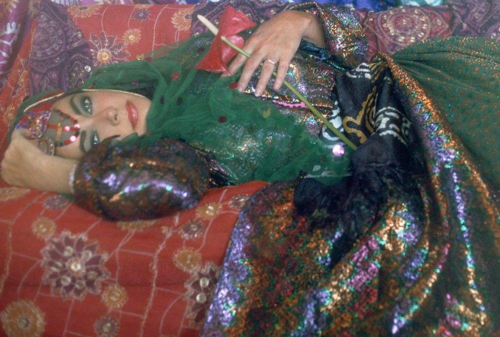 FIROOZ ZAHEDI, Elizabeth Taylor Dressed as an Odalisque I, 1976, Printed 2011