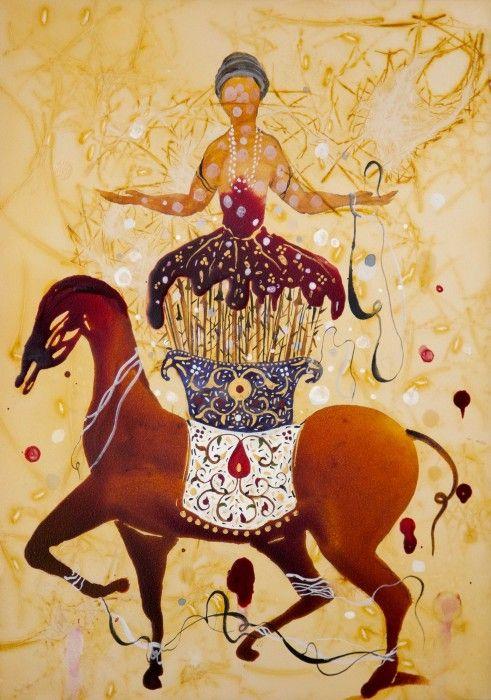 SHIVA AHMADI, Untitled 14 (from Throne), 2012