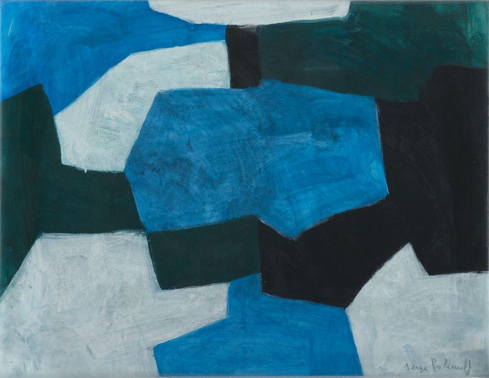 SERGE POLIAKOFF, Composition, 1966