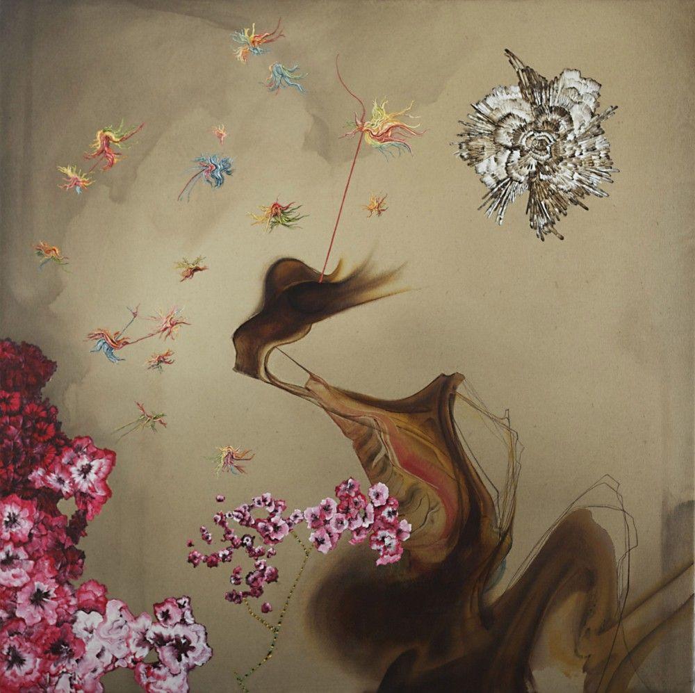 KATE ERIC, Feeder in Bloom, 2012