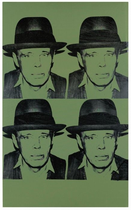 ANDY WARHOL, Portrait of Joseph Beuys, 1980