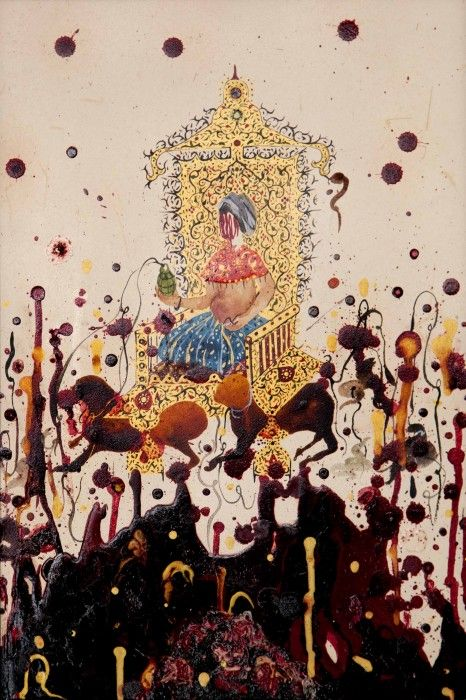 SHIVA AHMADI, Untitled 12 (from Throne), 2012