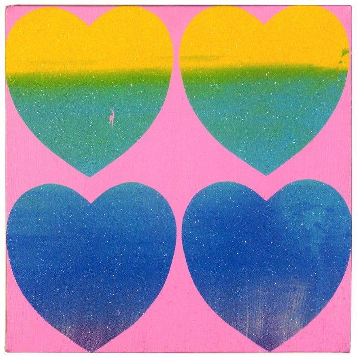 ANDY WARHOL, Four Hearts, 1983