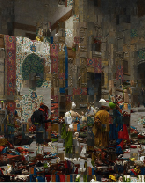 Rashid Rana Re-View II, 2017-2018
