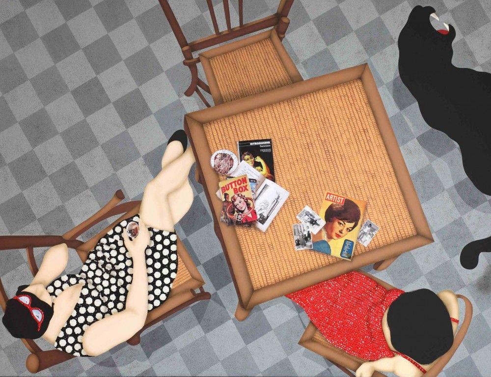 KEZBAN ARCA BATIBEKI, Fortune Teller, 2011