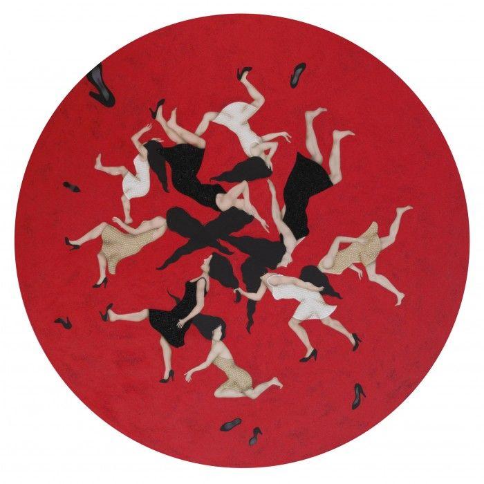 KEZBAN ARCA BATIBEKI, Big Red Circle 2, 2012