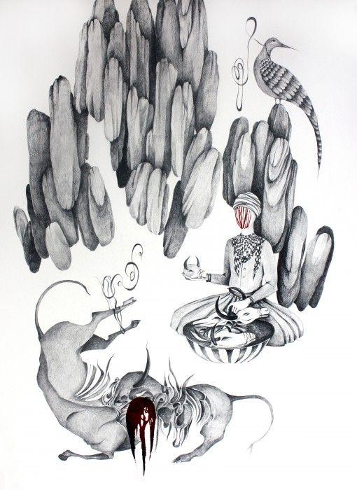 SHIVA AHMADI, Untitled 2, 2014