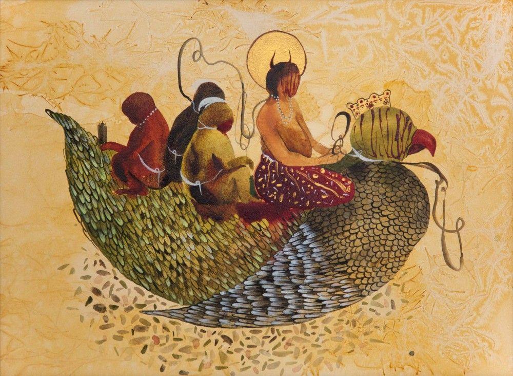 SHIVA AHMADI, Untitled 16 (from Throne), 2012