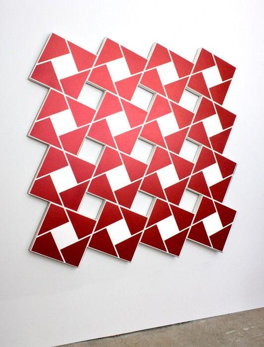 STEVEN NAIFEH, Ajlun X: Sashay Red, 2011