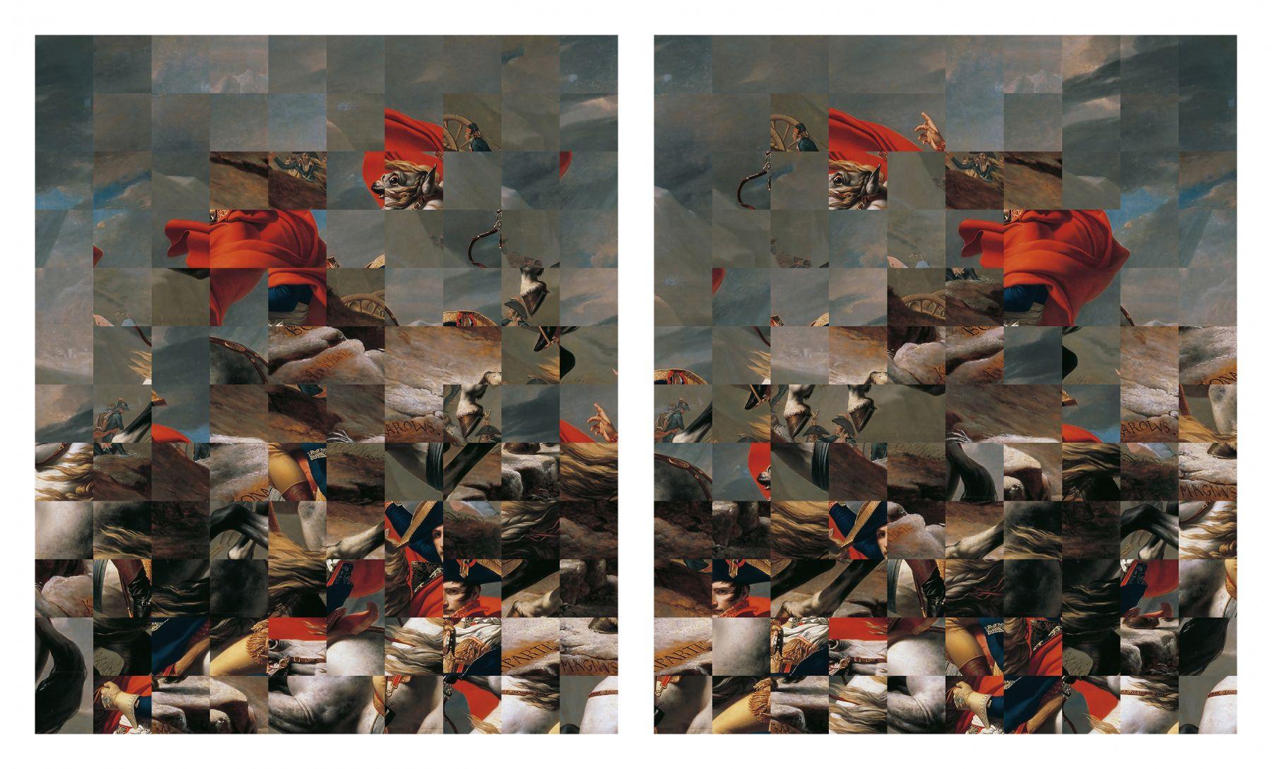 Rashid Rana, Two Ways to a View, 2017