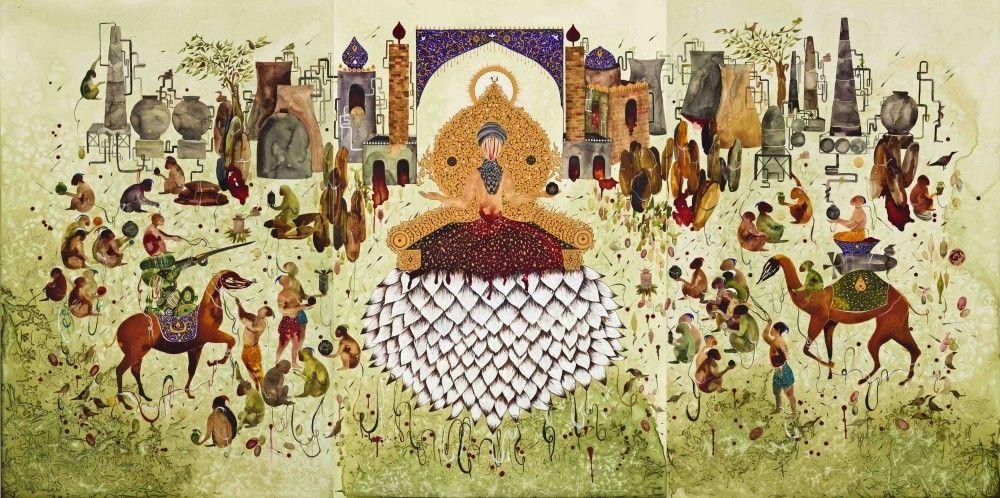 SHIVA AHMADI, Lotus, 2013