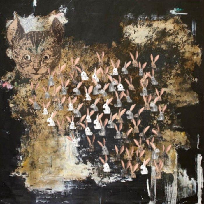 FARIDEH LASHAI, Gone Down the Rabbit Hole (video still), 2010-2012