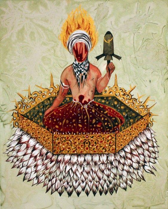 SHIVA AHMADI, Untitled 6 (from Throne), 2012