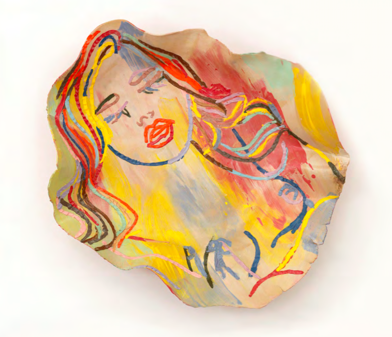 Ghada Amer The Sleeping Girl, 2014