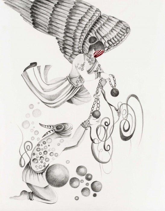 SHIVA AHMADI, Untitled 6, 2013
