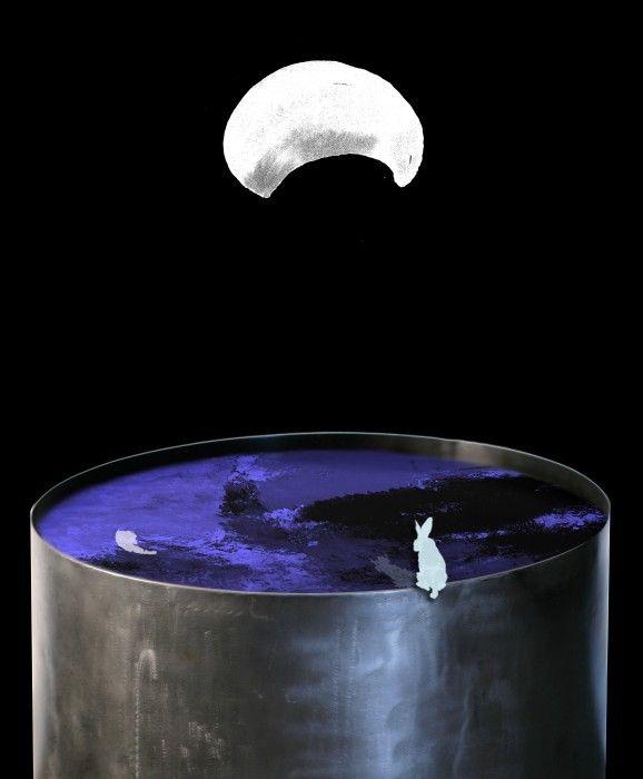 FARIDEH LASHAI, Catching the Moon (video still), 2010-2013