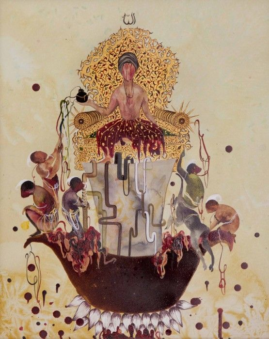 SHIVA AHMADI, Untitled 13 (from Throne), 2012