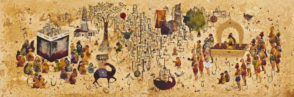 SHIVA AHMADI, Cube, 2013