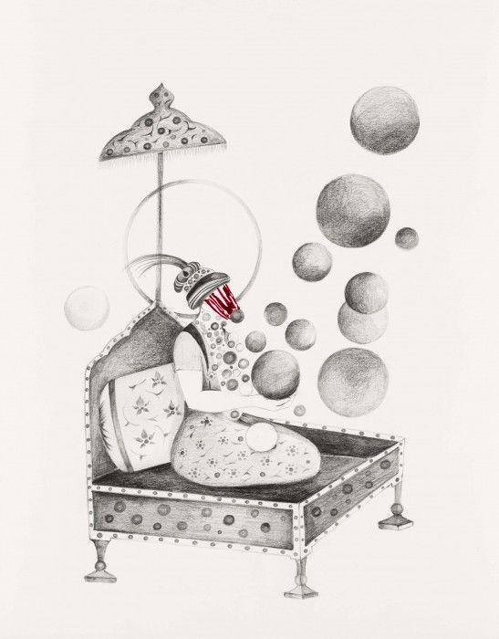 SHIVA AHMADI, Untitled 4, 2013
