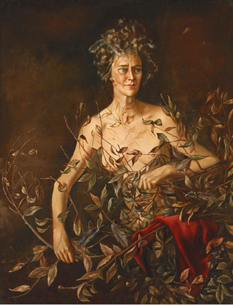 Leonor Fini (Argentina, 1907-1996), Portrait of Mrs. H I, 1942