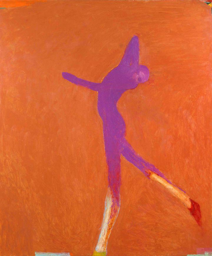 Nathan Oliveira, Cobalt Dancer, 2001