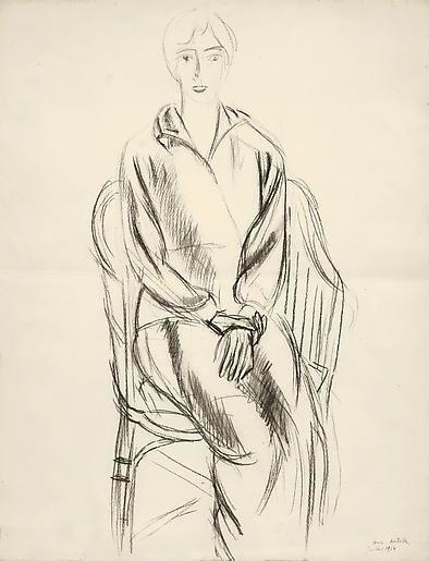 Femme Assise (Yvonne) 1914,